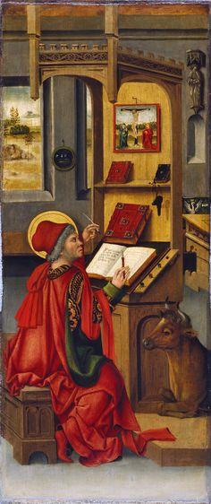 Gabriel Mälesskircher El evangelista san Lucas 1478