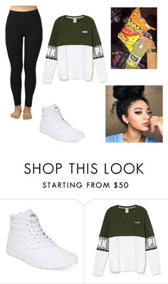 """""""Vans"""" by jasmine-o28 ❤ liked on Polyvore featuring Vans and Junk Food Clothing"""