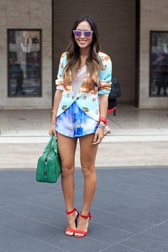 Street style look of the day! Photo by Jenna Marie Wakani.