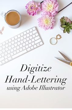 Something I wish I had learned earlier was how to digitize my calligraphy  work. That's why (after the longest blog introduction EVER), I am going to  teach you my way to digitize my work. This is not the only way to do this!  This is what works for me, my needs, my lettering, and my skill set. D