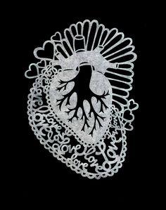 Sacred Heart - Lala Gallardo Un #corazón que palpita es siempre una razón para seguir viviendo