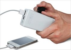 1 | This Hand-Cranked Cell-Phone Charger Is An Essential Disaster Tool | Co.Design: business + innovation + design