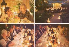 Backyard Rehearsal Dinner Ideas - Rustic Wedding Chic