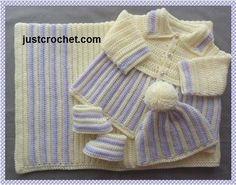 Layette Baby crochet pattern JC110B