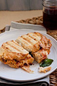 CHICKEN PARMESAN MEATBALL SANDWICHES