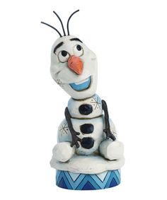 Look what I found on #zulily! Jim Shore Disney Traditions Frozen Olaf Figurine #zulilyfinds