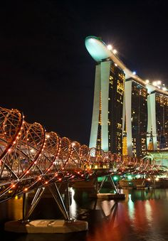 Helix & Marina Bay Sands Hotel, Singapore