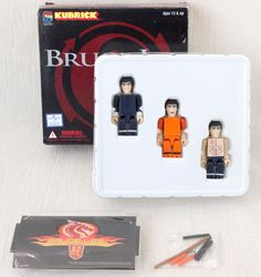 BRUCE LEE Kubrick figure set Medicom Toy JAPAN KUNG FU MOVIE #MedicomToy
