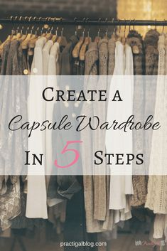 A capsule wardrobe can make your life easier by saving you time, money, and space in your closet. And it will lessen the stress of deciding what to wear! Minimalist Closet, Minimalist Fashion, Minimalist Living, Fall Capsule Wardrobe, Wardrobe Basics, Wardrobe Ideas, Professional Wardrobe, Work Wardrobe, Summer Wardrobe