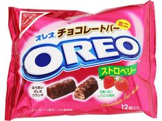 Oreo Strawberry Bars (bevat sojalecithine)
