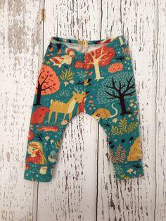 Organic Woodland leggings, baby leggings, printed leggings, baby girl leggings, girl leggings, toddler leggings by littlenuggetrepublic on Etsy https://www.etsy.com/listing/234242107/organic-woodland-leggings-baby-leggings