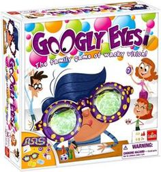 4-16 Players/ Ages 7+ Googly Eyes