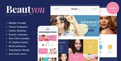 Beauty, Hair & Spa Salon HTML Template . Beauty, has features such as High Resolution: Yes, Compatible Browsers: IE10, IE11, Firefox, Safari, Opera, Chrome, Columns: 4+