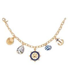 Order with me, Avon Rep Ben Keller at youravon.com/bkeller I offer free shipping on all orders over $40, plus I send out free gifts and samples personally after every order placed! Smooth Sailing Charm Bracelet