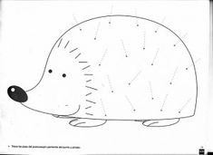 This would make a great hedgehog craft for The Mitten
