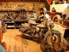 Garage Pour Harley-Davidson