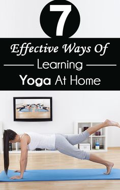 7 Effective Ways Of  Learning Yoga At Home