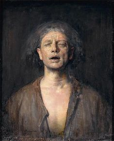Self Portrait with Eyes Closed - Nerdrum Odd