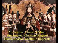 Christus Vincit! Christus Regnat! Christus Imperat! - Christian hymns of...