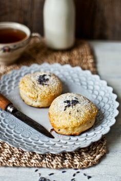 lavender & almond milk scones