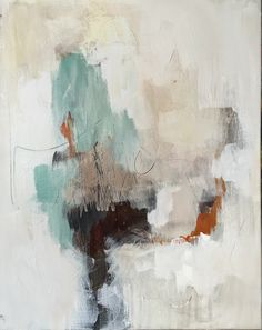 Artemesia I of Caria, abstract painting series 2016, canvas, Carrie Penley