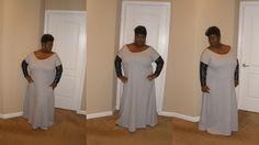 Mimi G's off the shoulder maxi dress.
