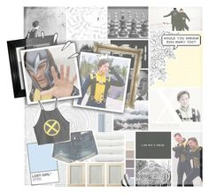 """I can drag you from the ocean, i can pull you from the fire and when you are standing in the shadows i can open up the sky // Cherik // Charles Xavier and Eric Lehnsherr // X-Men First Class // Marvel"" by saffire9975 ❤ liked on Polyvore featuring PAM, Old Navy, Linum Home Textiles, rag & bone and H&M"
