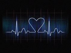 Show this to your loved ones and say that your heartbeat beats like crazy when they are near. Dark and romantic iPad wallpaper for the ones in love.