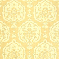 Istanbul Damask in #gold from the Tamarind collection. #Thibaut #Damask