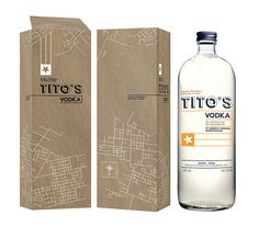 Tito's Handmade Vodka (Student Project) on Packaging of the World - Creative Package Design Gallery