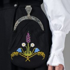 Hello all, Part three of this overview is forthcoming. I was asked about the costumes of Trondelag, and so I wrote this one fi. Norwegian Clothing, Scandinavian Embroidery, Lappland, Going Out Of Business, Norway, Needlework, Brooch, Costumes, Clothes