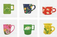 Kid Giddy and Moss and Lotus introduce The Mug Club Part 1. 6 Paper Piecing mugs and an extra bonus.