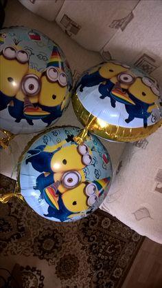 #mybirthday #ballons #Minons