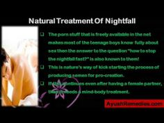 This video describes about effective tips to stop nightfall fast. You can find more details about NF Cure capsules at http://www.ayushremedies.com