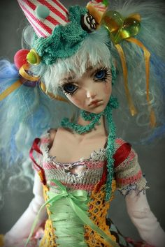 One of a Kind BJD Porcelain doll by Forgotten by ForgottenHearts, $950.00