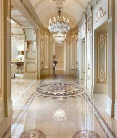 Luxurious hallway.