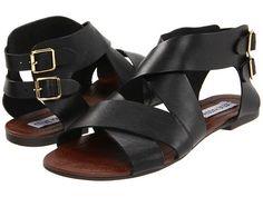 Steve Madden Achilees Black Leather - US$49.95