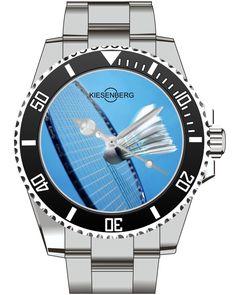Badminton Watch Kiesenberg  - Men Watch Jewelry Sports Badminton Gift Present for Men- Watch 2001 von UHR63 auf Etsy