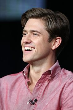 Aaron Tveit. babe is on pinterest. i get giddy every time. thanks Les miz