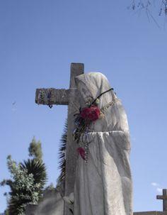 La escultura que llora, El Saucito, San Luis Potosi, Mexico