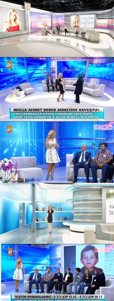 Tv Reality Show Studio, Woman Programme, Muge Anli, Tv Studio Design
