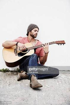 View top-quality stock photos of South Africa Cape Town Musician Playing Guitar Outdoors. Find premium, high-resolution stock photography at Getty Images. Senior Boy Photography, Musician Photography, Band Photography, Photography Poses For Men, Guitar Senior Pictures, Guitar Photos, Acoustic Guitar Photography, Guitar Boy, Senior Boy Poses
