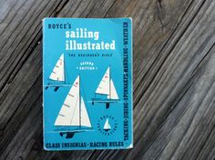Royce's Sailing Illustrated vintage paperback book by OatesGeneral