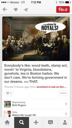 US History Humor << Haha, I moved to Virginia 3 months ago xD I don't know why that's so funny to me xD