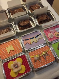 Brownie - Festa Junina - Marmitinha