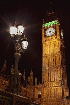 The Palace of Westminster Clock Tower