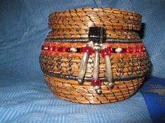 Red Star Pine Needle Basket