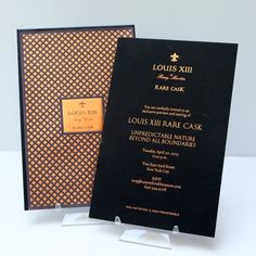 Louis XIII Rare Cask Exclusive Preview and Tasting Invitation by Ceci New York.
