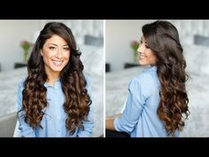 ▶ How to Curl Your Hair in 5 Minutes - YouTube