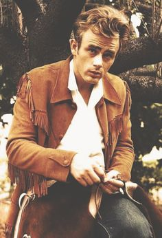 James Dean + Hippie Fringe Jacket bomb.com, and a side of fries.